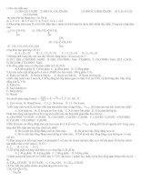 Bài soạn 500 CÂU TRẮC NGHIỆM HÓA 12