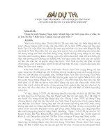 Bài giảng Thi tìm hiểu Đảng Bộ Quảng Nam 78 năm