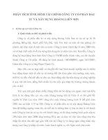 PHÂN TÍCH TÌNH HÌNH TÀI CHÍNH CÔNG TY CỔ PHẦN ĐẦU TƯ VÀ XÂY DỰNG HOÀNG LIÊN SƠN