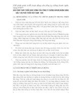 Giải pháp phát triển hoạt động của công ty chứng khoán ngân hàng đầu tư và phát triển Việt Nam - BSC