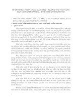 NHỮNG GIẢI PHÁP NHẰM ĐẨY MẠNH XUẤT KHẨU THỦY SẢN CỦA VIỆT NAM SANG EU TRONG NHỮNG NĂM TỚI