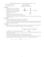 Bài giảng 72 đề thi HSG Lý 9