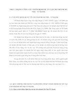 THỰC TRẠNG CÔNG TÁC THẨM ĐỊNH DỰ ÁN TẠI CHI NHÁNH HÀ NỘI – VP BANK