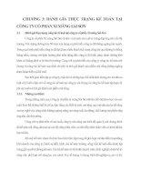 Đánh giá thực trạng công tác kế toán tại công ty cổ phần Xi măng Sài Sơn.