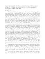 MỘT VÀI NHẬN XÉT VỀ CÔNG TÁC KẾ TOÁN BÁN HÀNG VÀ XÁC ĐỊNH KẾT QUẢ BÁN HÀNG Ở CÔNG TY CỔ PHẦN SXTM THIÊN LONG CHI NHÁNH TẠI HÀ NỘI