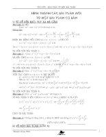 Bài soạn Khai thác từ một bài toán