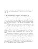 LÝ LUẬN CHUNG VỀ TỔ CHỨC CÔNG TÁC KẾTOÁN TẬP HỢP CHI PHÍ XÂY LẮP VÀ TÍNH GIÁ THÀNH SẢN PHẨM TRONG DOANH NGHIỆP XÂY LẮP
