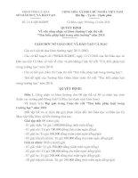 Bài soạn Quyết định của sdg Cà Mau về Thi tìm hiểu pháp luật trong trường học năm 2010