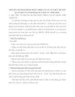 MỘT SỐ GIẢI PHÁP NHẰM HOÀN THIỆN CƠ CẤU TỔ CHỨC BỘ MÁY QUẢN TRỊ CỦA SỞ KẾ HOẠCH VÀ ĐẦU TƯ VĨNH PHÚC