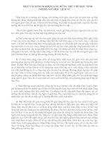 Tài liệu MỘT VÀI KINH NGHIỆM GÂY HỨNG THÚ CHO HỌC SINH TRONG GIỜ HỌC LỊCH SỬ
