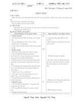 Bài giảng giao an lop 3 tuan 21