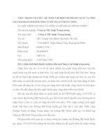 THỰC TRẠNG TỔ CHỨC KẾ TOÁN TẬP HỢP CHI PHÍ SẢN XUẤT VÀ TÍNH GIÁ THÀNH SẢN PHẨM Ở CÔNG TY MỸ THUẬT TRUNG ƯƠNG