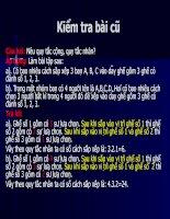 Bài soạn Tiet 25 hoan vi chinh hop to hop