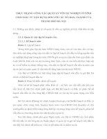 THỰC TRẠNG CÔNG TÁC QUẢN LÝ VỐN SỰ NGHIỆP CÓ TÍNH CHẤT ĐẦU TƯ XÂY DỰNG ĐỐI VỚI CÁC SỞ, BAN, NGÀNH CỦA THÀNH PHỐ HÀ NỘI