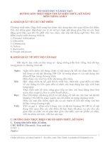 Bài giảng Chuẩn KTKN Tiếng Anh 9