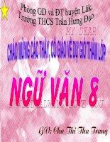 Bài soạn VAN BAN QUE HUONG