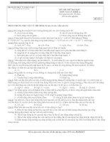 Gián án TUYỂN ĐỀ THI ĐH LÝ KHỐI  A -ĐỀ SỐ 5 (Có ĐA)
