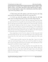 GIẢI PHÁP VÀ KHUYẾN NGHỊ NHẰM THỰC HIỆN TỐT HƠN CÔNG TÁC BỒI THƯỜNG BẢO HIỂM HÀNG HÓA XUẤT NHẬP KHẨU CHUYÊN CHỞ BẰNG ĐƯỜNG BIỂN TẠI PTI GIAI ĐOẠN TỚI