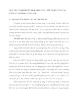 IẢI PHÁP NHẰM HOÀN THIỆN PHƯƠNG THỨC TRẢ LƯƠNG TẠI CÔNG TY CỔ PHẦN VIỆT LONG