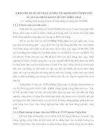 Ý KIẾN ĐỀ XUẤT VỀ CHẤT LƯỢNG TÍN DỤNG ĐỐI VỚI HỘ SẢN XUẤT TẠI NHNO &PTNT HUYỆN THIỆU HOÁ