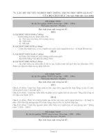 Tài liệu Tổng hợp đề thi TN từ 1993-2009