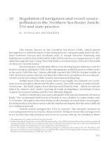 Regulation of navigation and vessel-source pollution in the Northern Sea Route - Article 234 and state practice