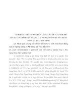 TÌNH HÌNH THỰC TẾ TỔ CHỨC CÔNG TÁC KẾ TOÁN CHI PHÍ SẢN XUẤT VÀ TÍNH GIÁ THÀNH Ở XÍ NGHIỆP CÔNG TY XÂY DỰNG SÔNG ĐÀ 8 TẠI BẮC NINH