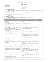 Bài giảng giao an 4 HKII