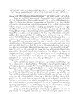 NHỮNG GIẢI PHÁP NHẰM HOÀN THIỆN KẾ TOÁN CHI PHÍ SẢN XUẤT VÀ TÍNH GIÁ THÀNH SẢN PHẨM XÂY LẮP Ở CÔNG TY CƠ GIỚI VÀ XÂY LẮP SỐ 13