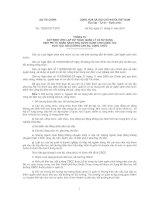 Bài giảng Quy định của BTC về hỗ trợ cán bộ đi học