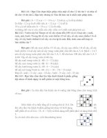 Bài giảng 10 DE, DAP AN TOAN CHON LOC (PHAN XIV)
