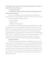 THỊ TRƯỜNG DƯỢC PHẨM VÀ HOẠT ĐỘNG KINH DOANH CỦA CÔNG TY TNHH DƯỢC PHẨM PHÚ HƯNG