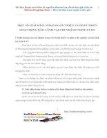 MỘT SỐ GIẢI PHÁP NHẰM HOÀN THIỆN VÀ PHÁT TRIỂN HOẠT ĐỘNG BẢO LÃNH TẠI CHI NHÁNH NHĐT-PT HN
