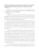 HOÀN THIỆN TỔ CHỨC KẾ TOÁN BÁN HÀNG VÀ XÁC ĐỊNH KẾT QUẢ KINH DOANH TẠI CÔNG TY CỔ PHẦN TRUNG NGUYÊN