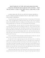 NHỮNG VẤN ĐỀ LÝ LUẬN CƠ BẢN VỀ QUẢN LÝ HẠCH TOÁN CHI PHÍ SẢN XUẤT VÀ TÍNH GIÁ THÀNH SẢN PHẨM CỦA DOANH NGHIỆP SẢN XUẤT TRONG ĐIỀU KIỆN HIỆN NAY