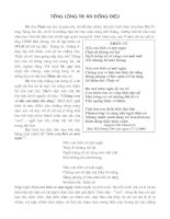 cảm nhận về bài thơ: Thầy cũ