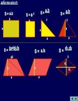 Bài 6: Diện tích đa giác