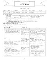 Tập giáo án Hóa học 10 cơ bản