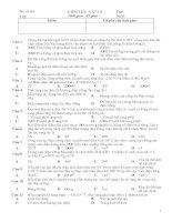 Bài KT HK II-số 1