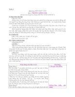 Giáo án Ngữ văn 8 từ tiết 5 đến tiết 16