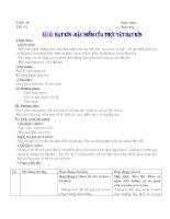Bài 41 Hạt kín Đặc điểm của thực vật hạt kín
