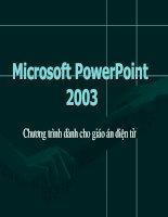 Bài giảng về cách làm powerpoint hay lắm