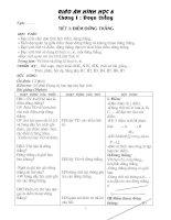 Giáo án Hình học 6: T1-30