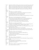 Đề trắc nghiệm của sở GD và ĐT Tỉnh Thừa Thiên Huế - Su song trong cac dai thai co nguyen sinh va co sinh(có Đ/Á)