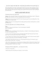 KỸ NĂNG NHẬN XÉT BIỂU ĐỒ: CHÌA KHOÁ ĐẠT ĐIỂM TỐI ĐA MÔN ĐỊA LÝ