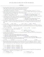 150 câu hỏi ôn tập TN vật lý