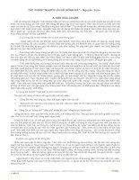 Ôn thi: Người lái đò sông Đà (Nguyễn Tuân)