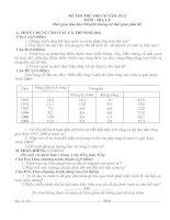 Đề thi thử đại học môn địa lý - đề 14