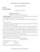 Bộ đề luyện thi Ngữ văn vào lớp 10