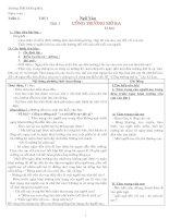 Giáo án Ngữ văn lớp 7